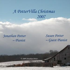 A PotterVilla Christmas CD label